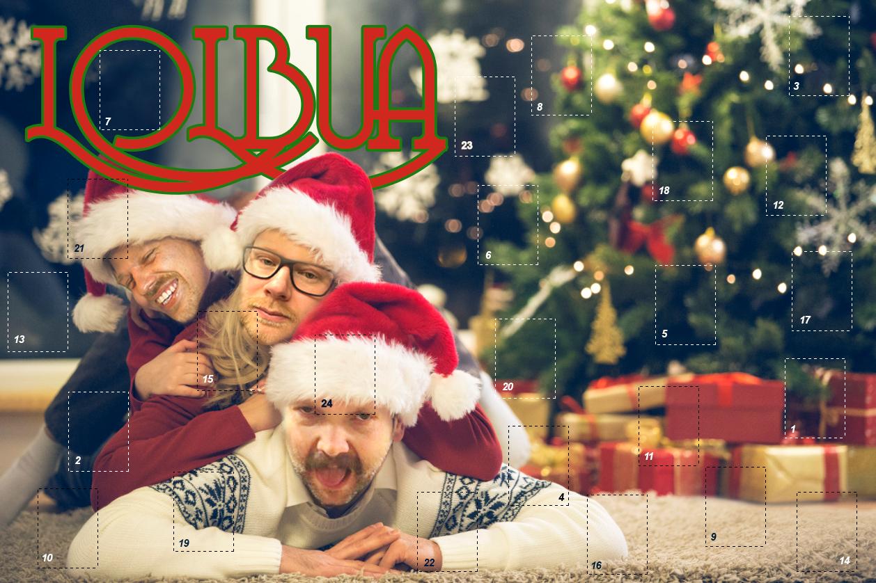 LOLbuas julekalender – Luke 1