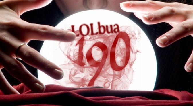 LOLbua 190 – Vi spår 2018