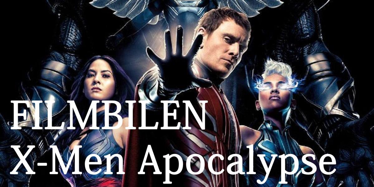 Filmbilen: X-Men Apocalypse på 35 sekunder