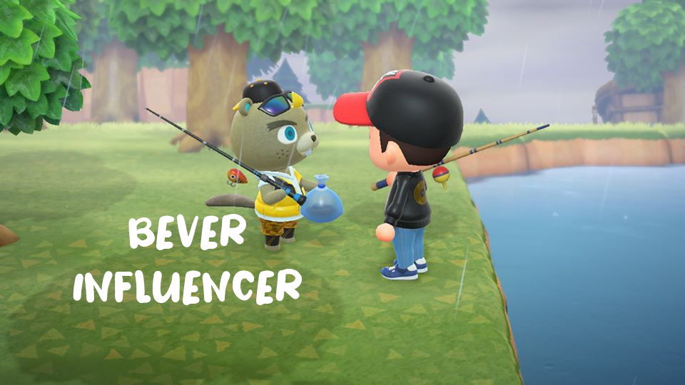 Fiskedag i Animal Crossing