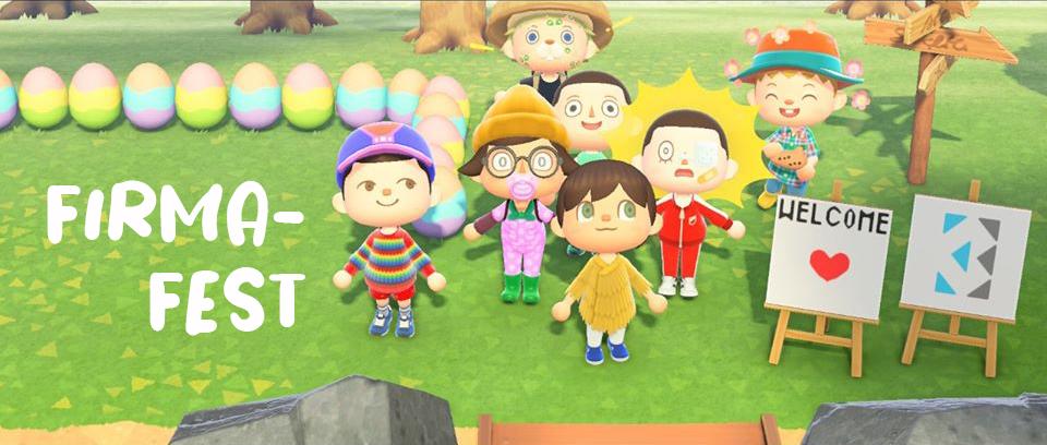 Animal Crossing dag 15 – Firmafest