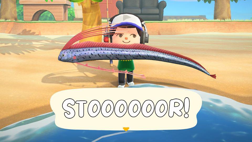 Animal Crossing: Stor fangst!