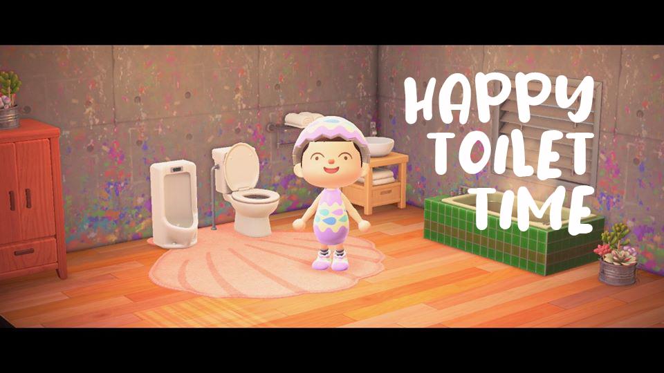 Animal Crossing dag 14 – Pissoar installert