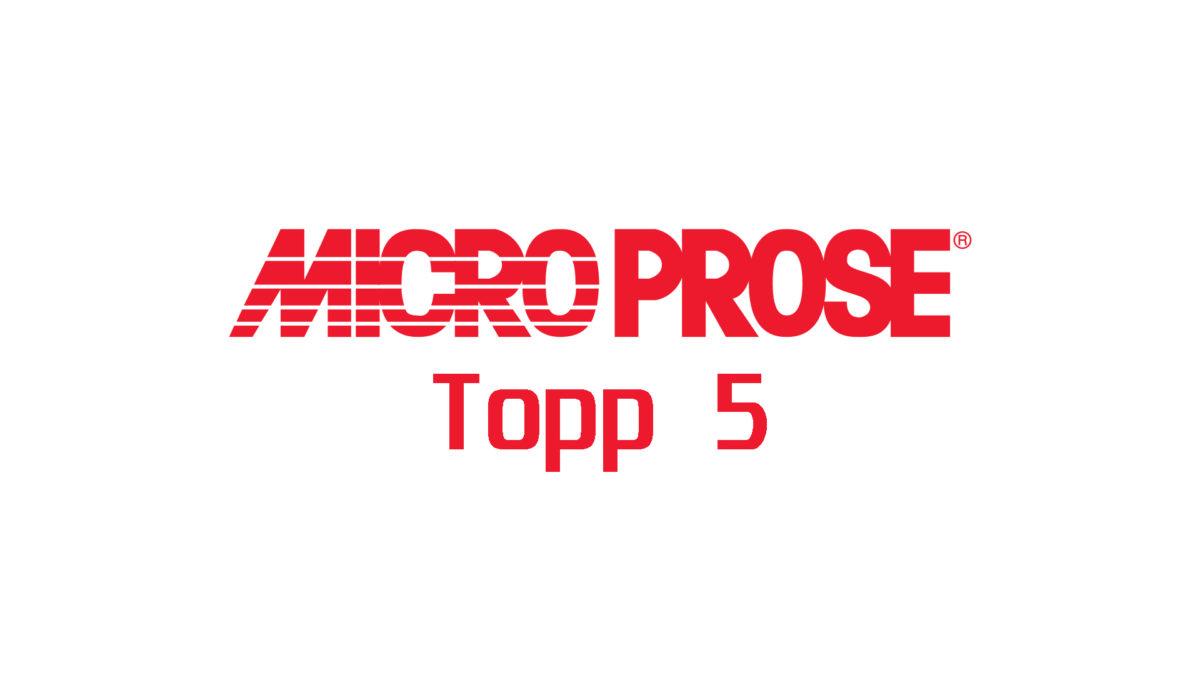 Microprose topp fem: tredje- og andreplass